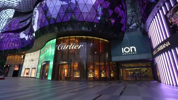 Ion Orchard Mall, nákupní čtvrti Orchard Road, Singapur
