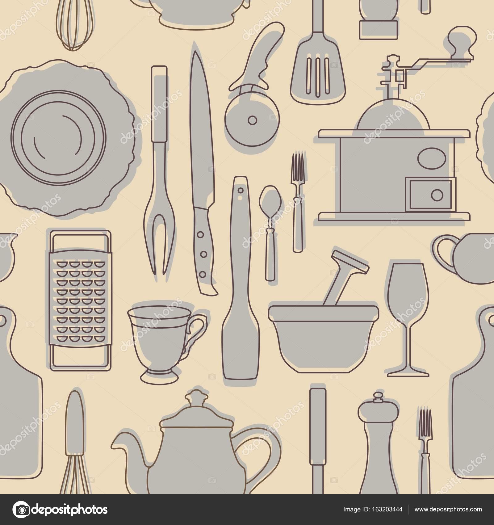 Fotos de utensilios de cocina vintage