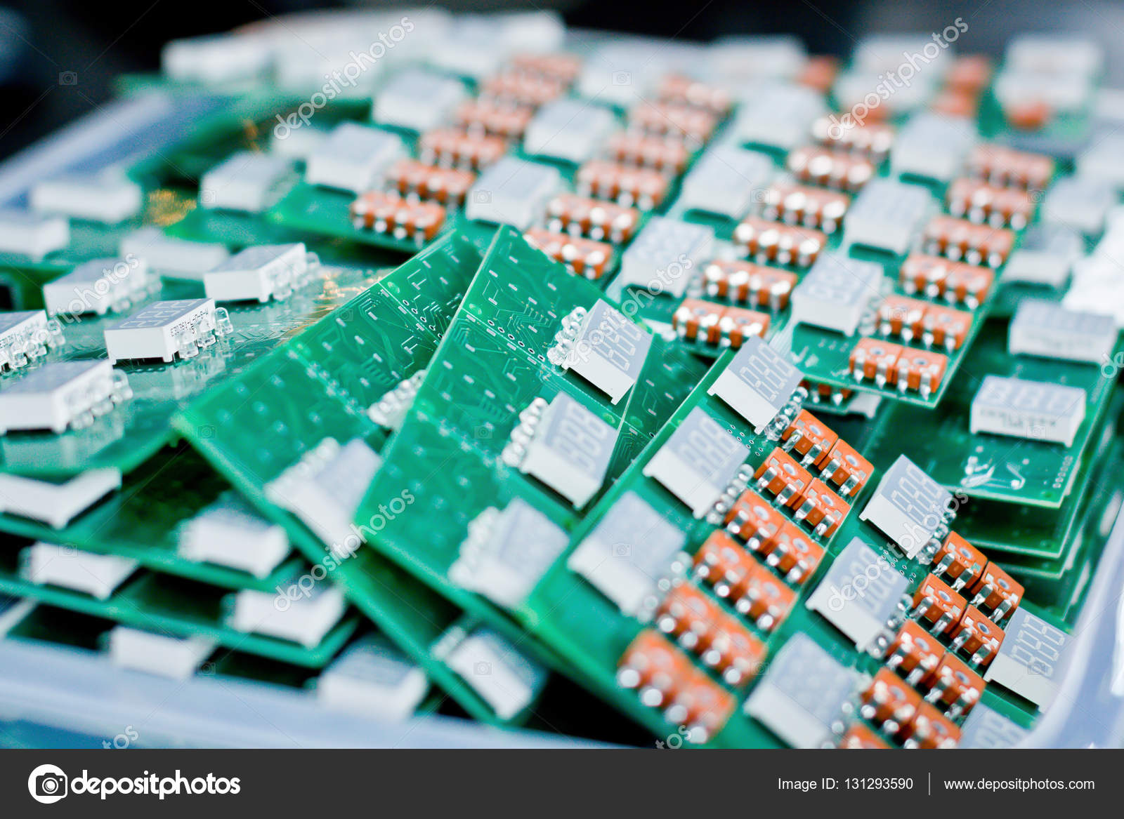 Closeup Of Electronic Circuit Board Macro Shot The Back Side Games A Electronics Energy Information Technology Computers Photo By