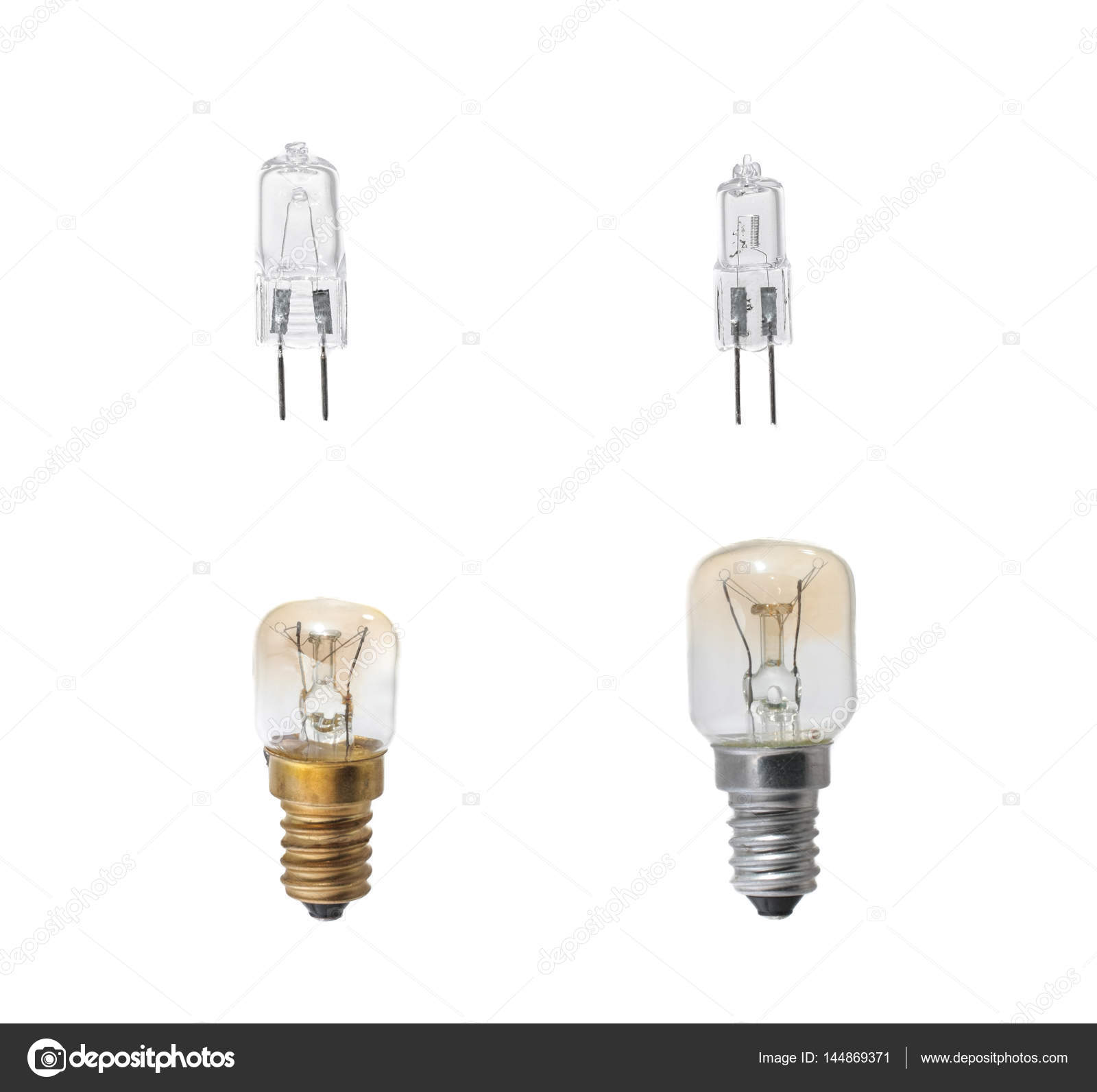 Set of halogen bulbs on white background collection of different set of halogen bulbs on white background collection of different kind of light bulbs arubaitofo Images