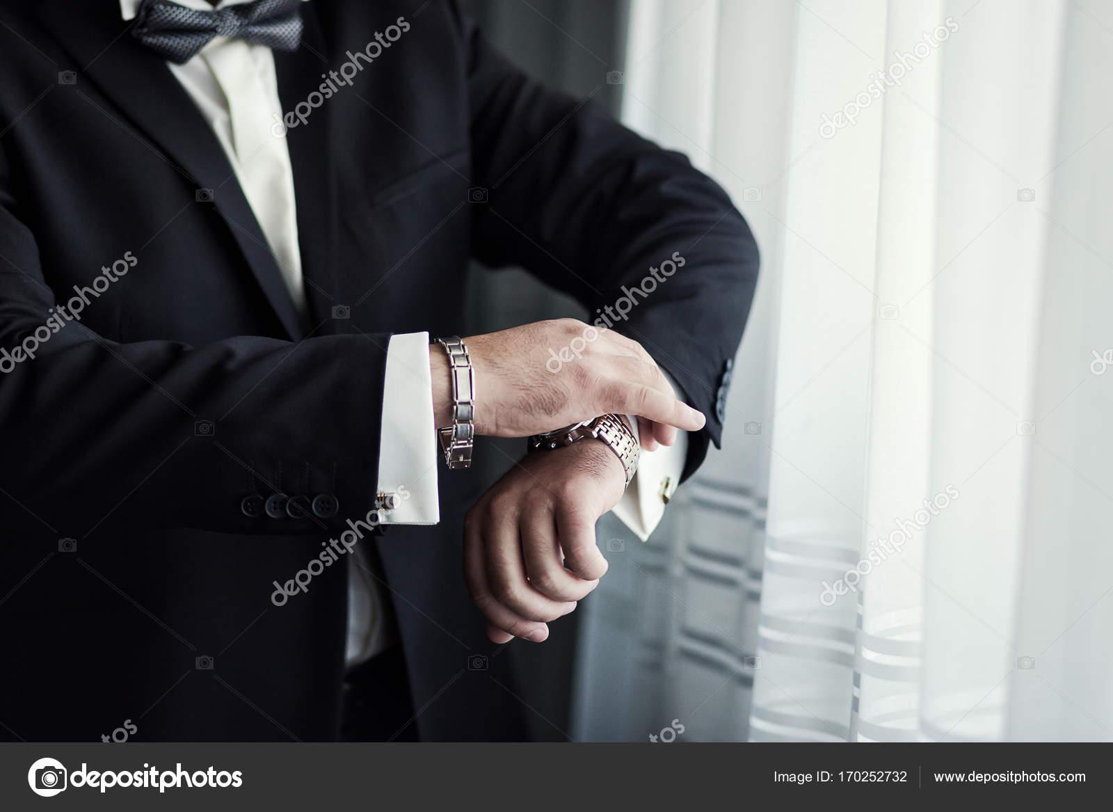 Veste De Porte Homme Une D'affaire Style Mâle L'homme Mains qapSAp