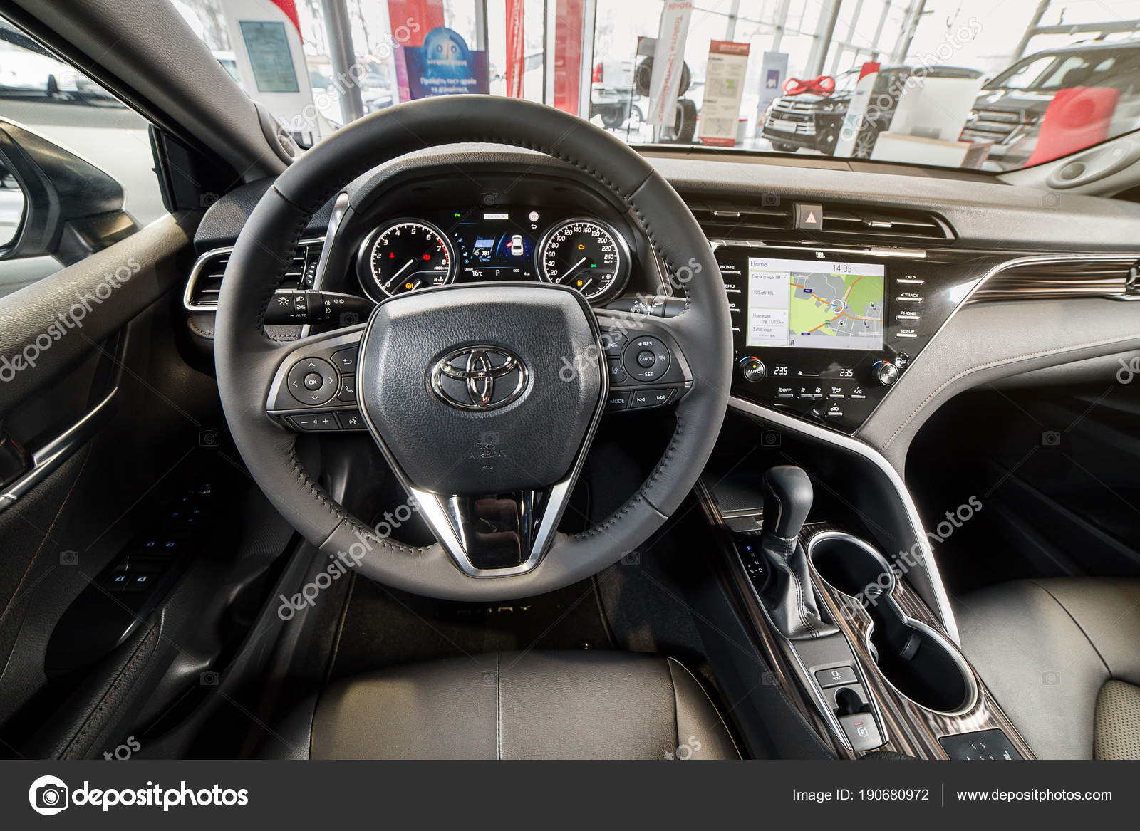 Toyota Camry 2018 Interior >> Vinnitsa Ukraine March 18 2018 Toyota Camry Concept Car