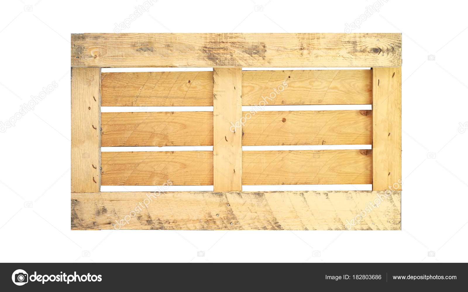 Back Of Wood Pallet On White Background In Top View Photo By Ultramansk