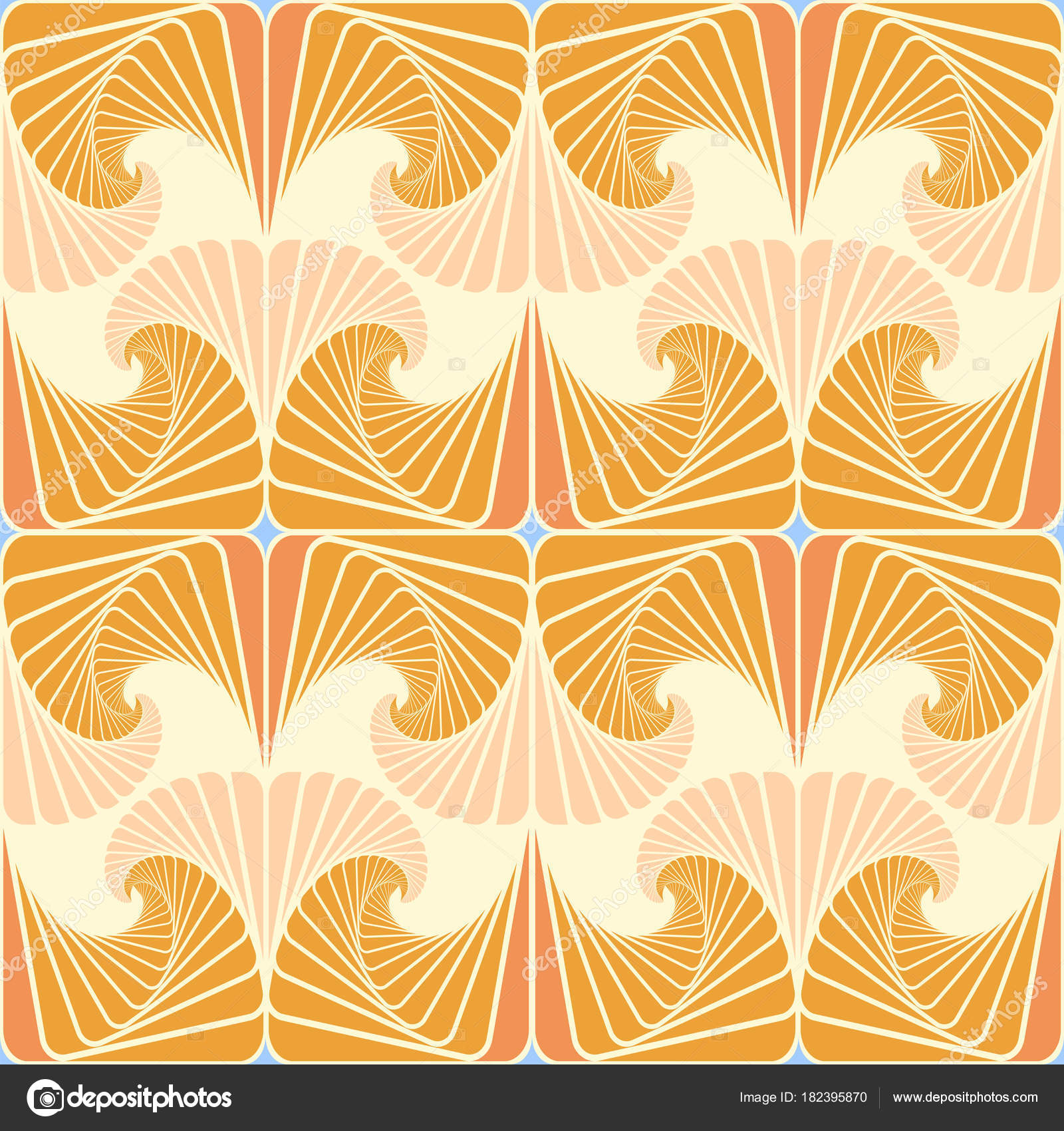 Seamless Pattern Light Yellow Background Warm Tones Rhythmically ... for Background Pattern Light Orange  61obs