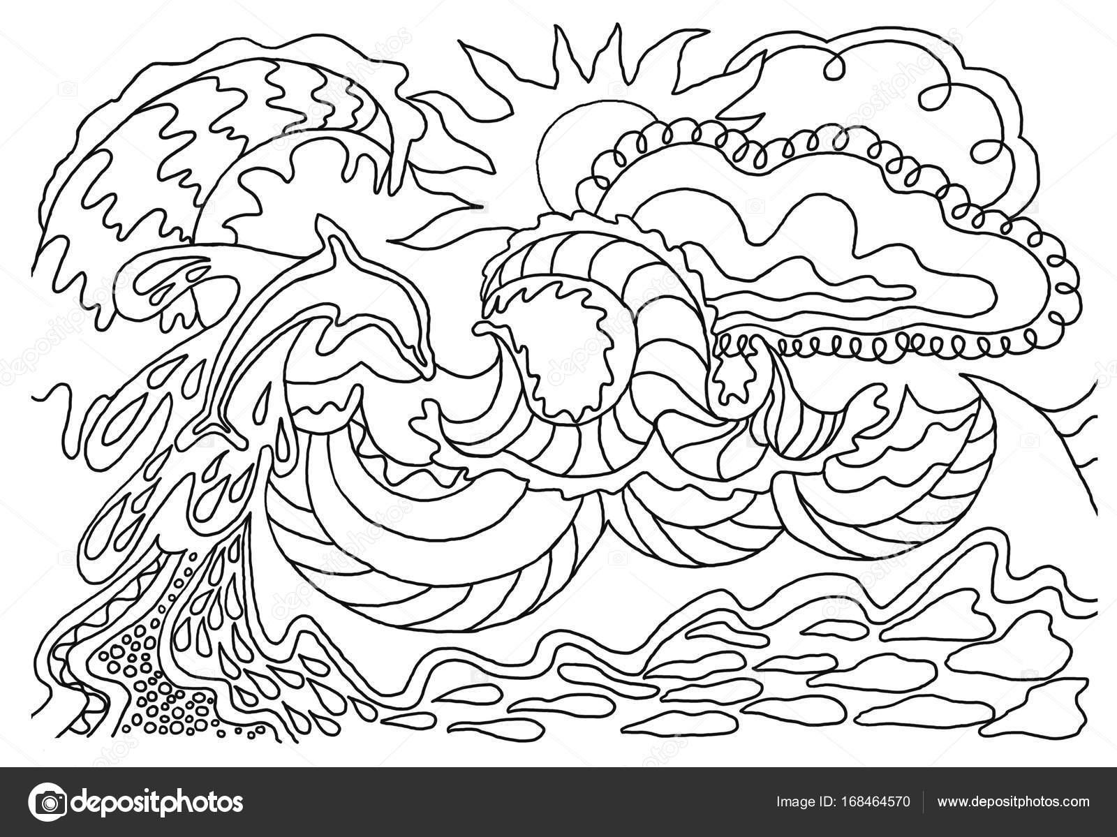 Libri da colorare per bambini e adulti un 39 immagine della for Disegni da colorare per adulti e ragazzi