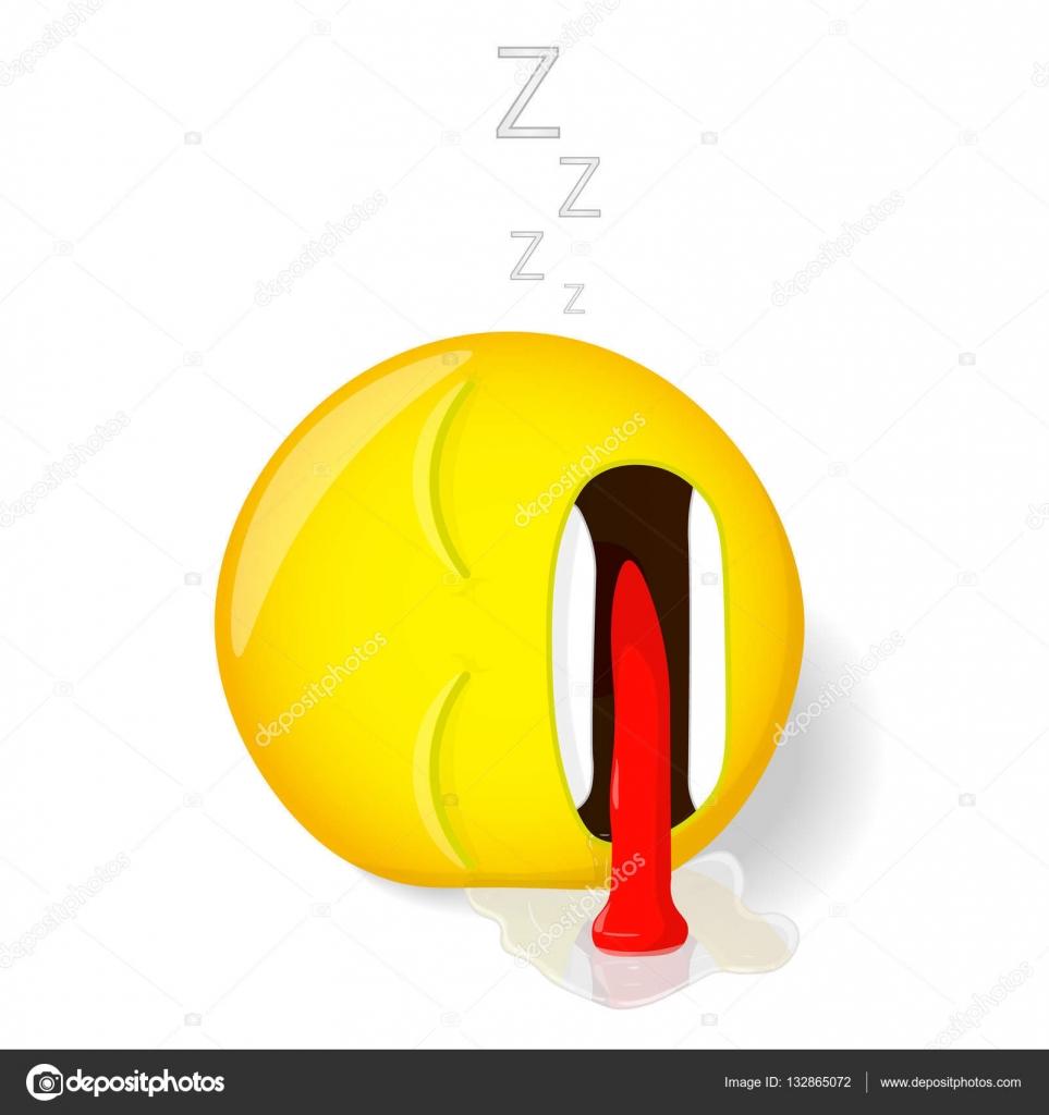 Dormire emoji emozione di stanchezza emoticon si trova