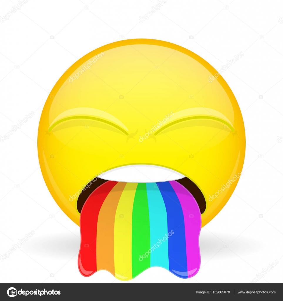картинки мультяшная радуга