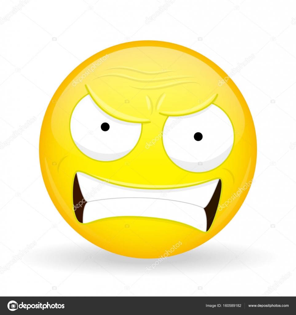 emoji zangado emoção de raiva emoticon de palavrões estilo de