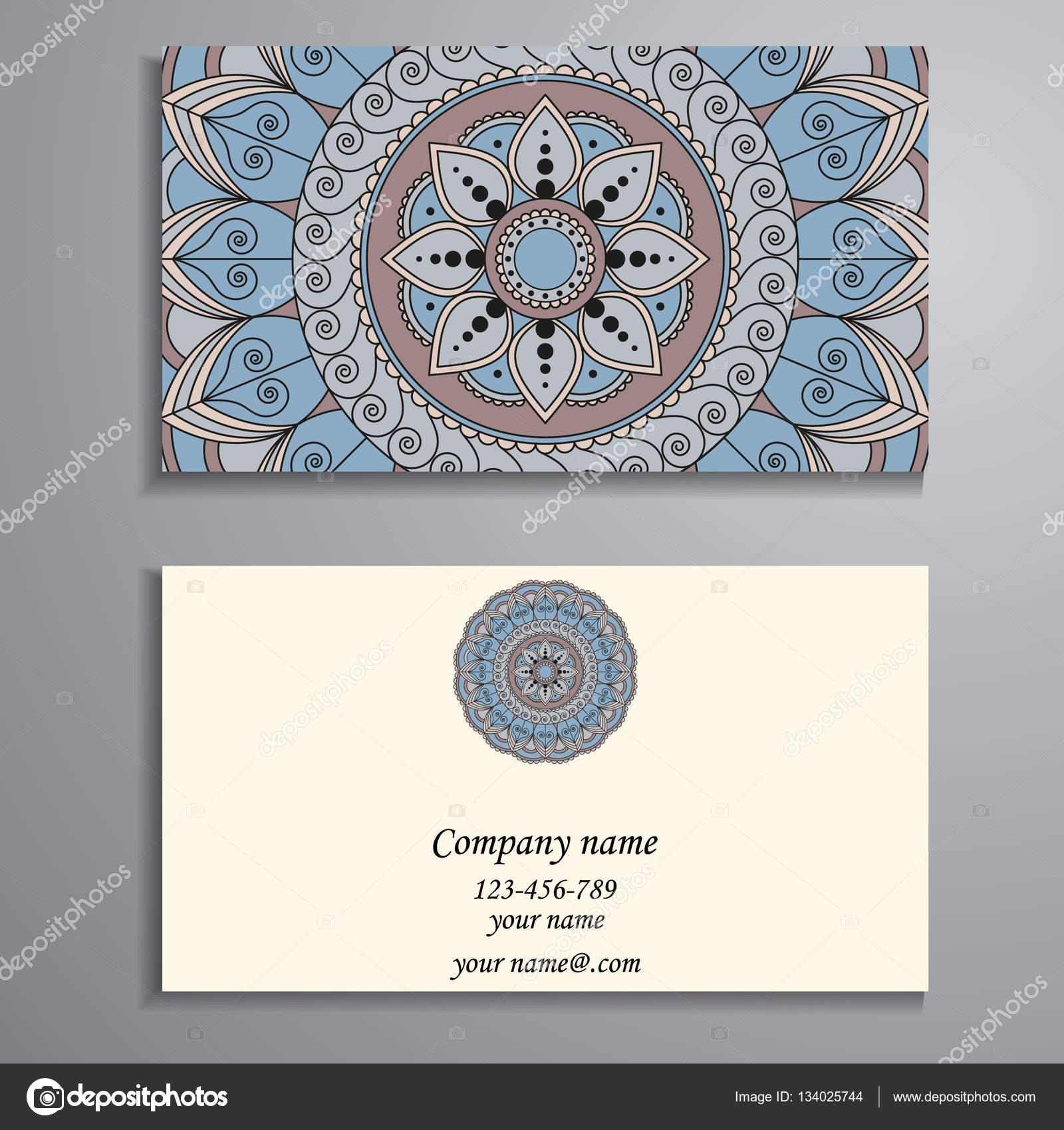 Business card vintage decorative elements ornamental floral bu business card vintage decorative elements ornamental floral bu stock vector reheart Choice Image