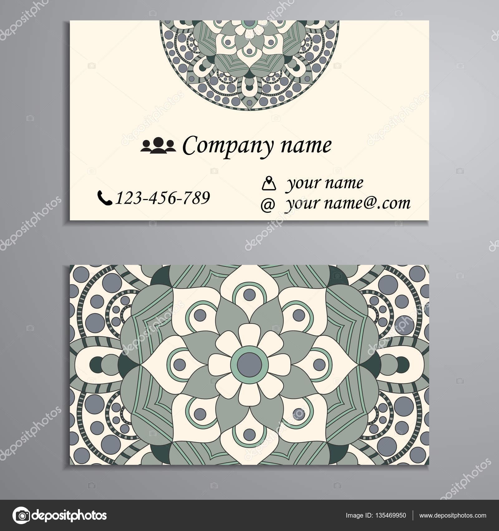 Invitación, tarjeta de visita o banner con plantilla de texto. Ronda ...
