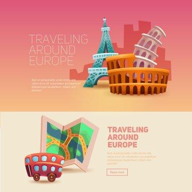 Traveling around europe