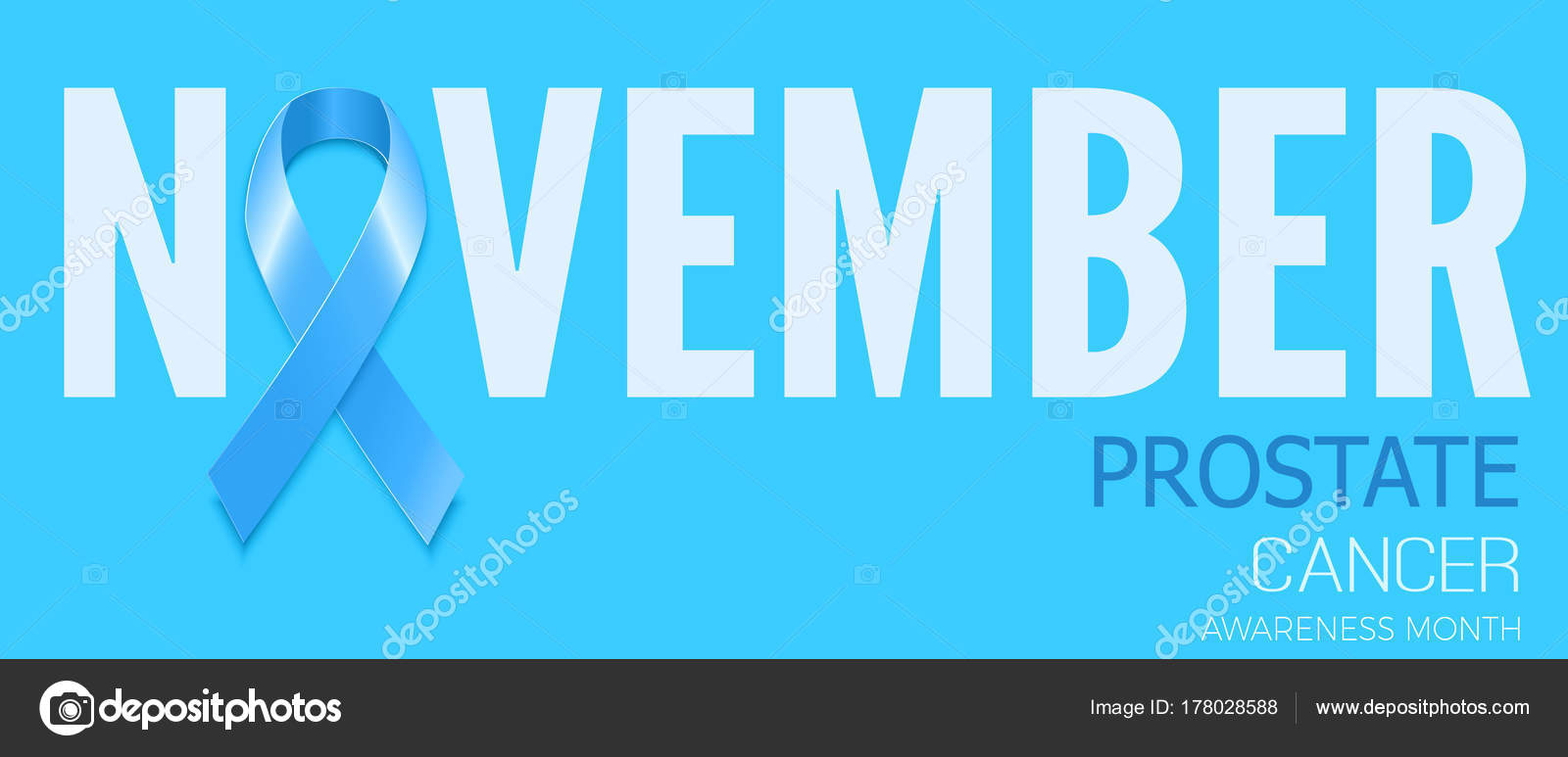 Blue ribbon symbol for prostate cancer awareness month vector b blue ribbon symbol for prostate cancer awareness month vector b stock vector buycottarizona Image collections