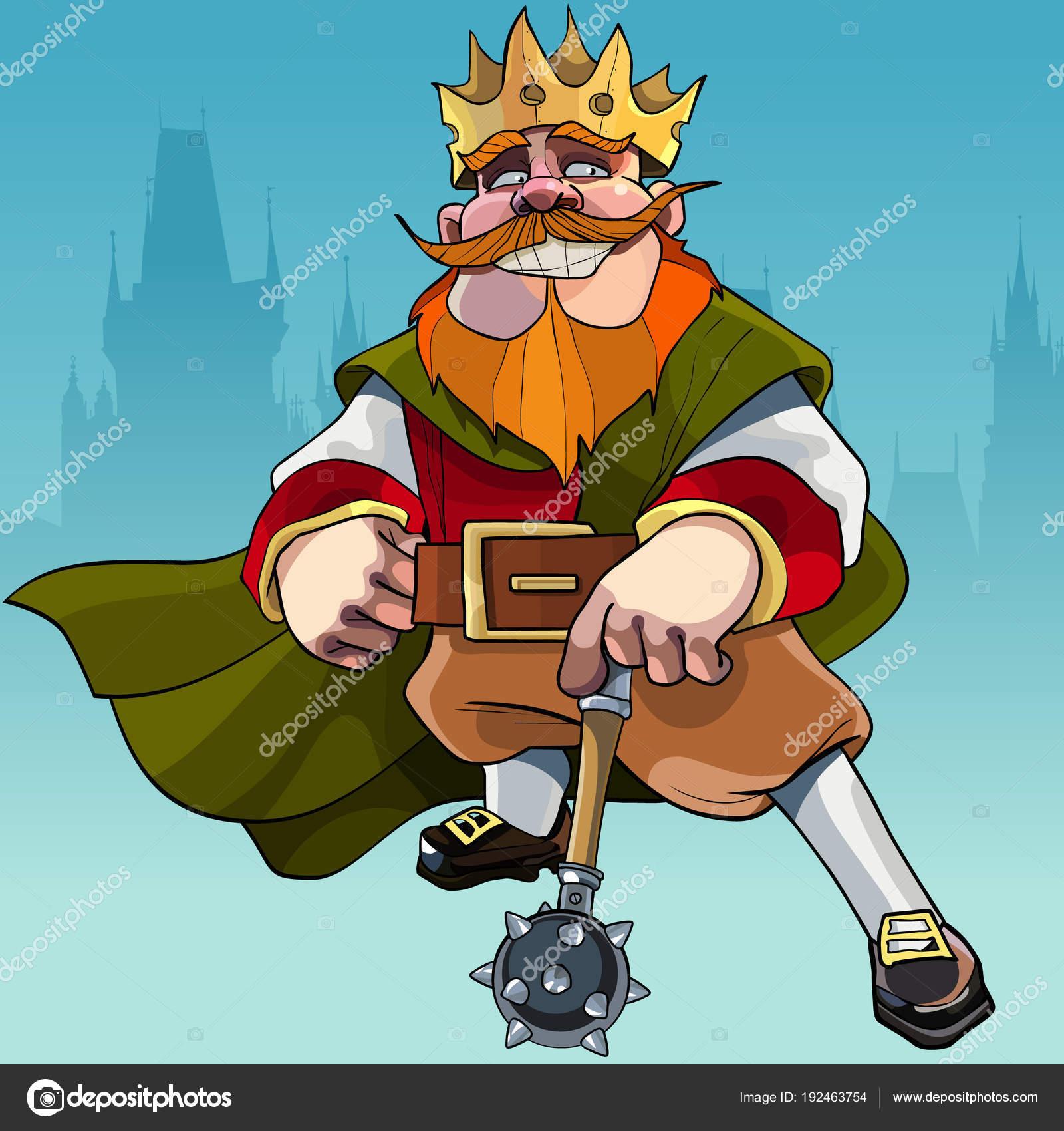 král karikatur z kopce