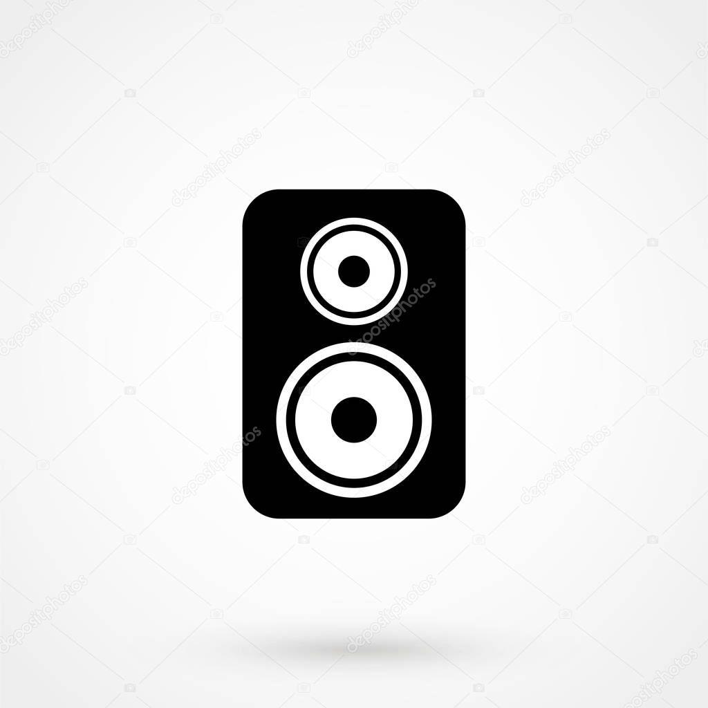 Audio-Lautsprecher Vektor icon — Stockvektor © elenberg24.mail.ru ...