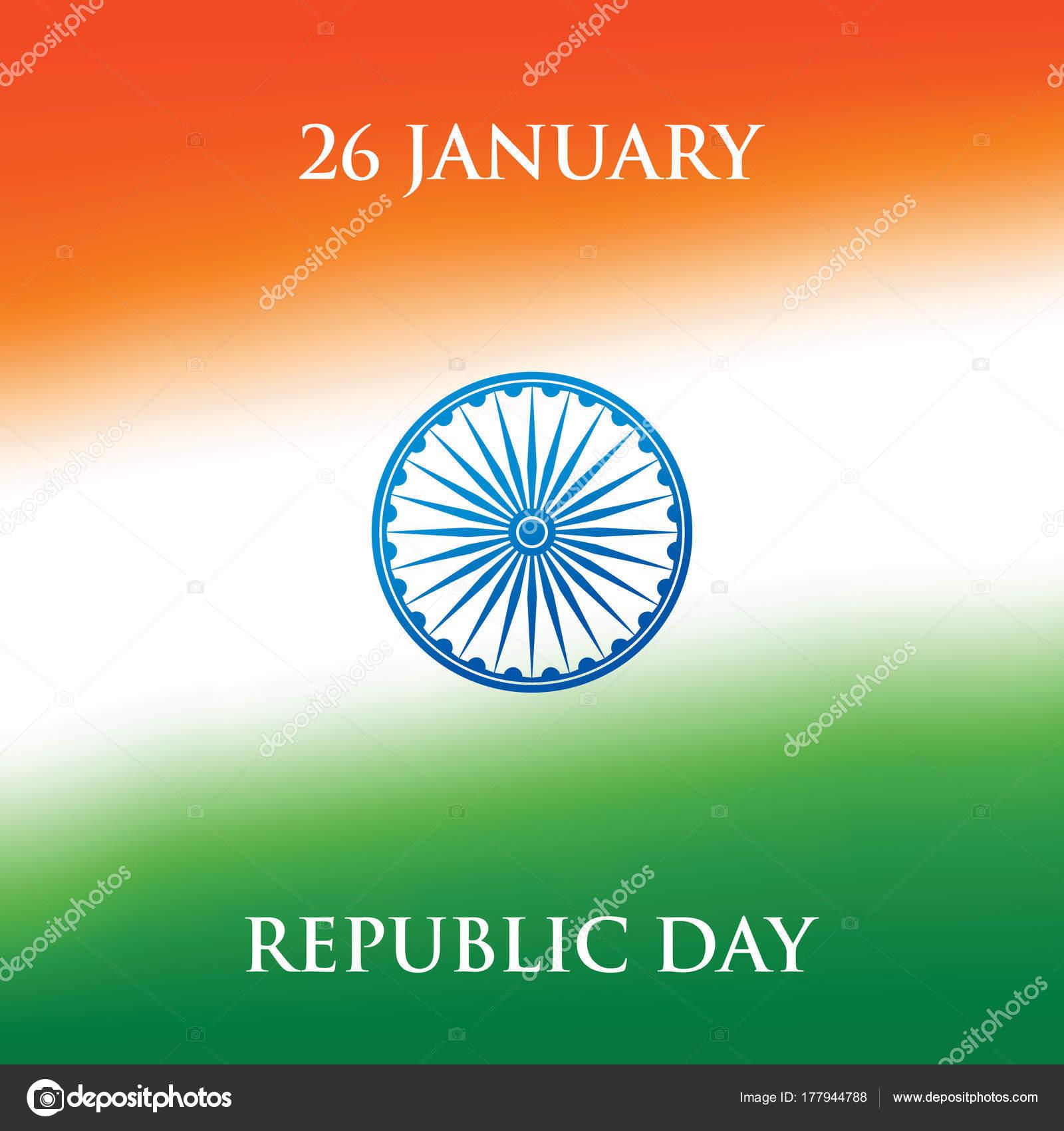India republic day greeting card design vector illustration january india republic day greeting card design vector illustration january republic stock vector m4hsunfo