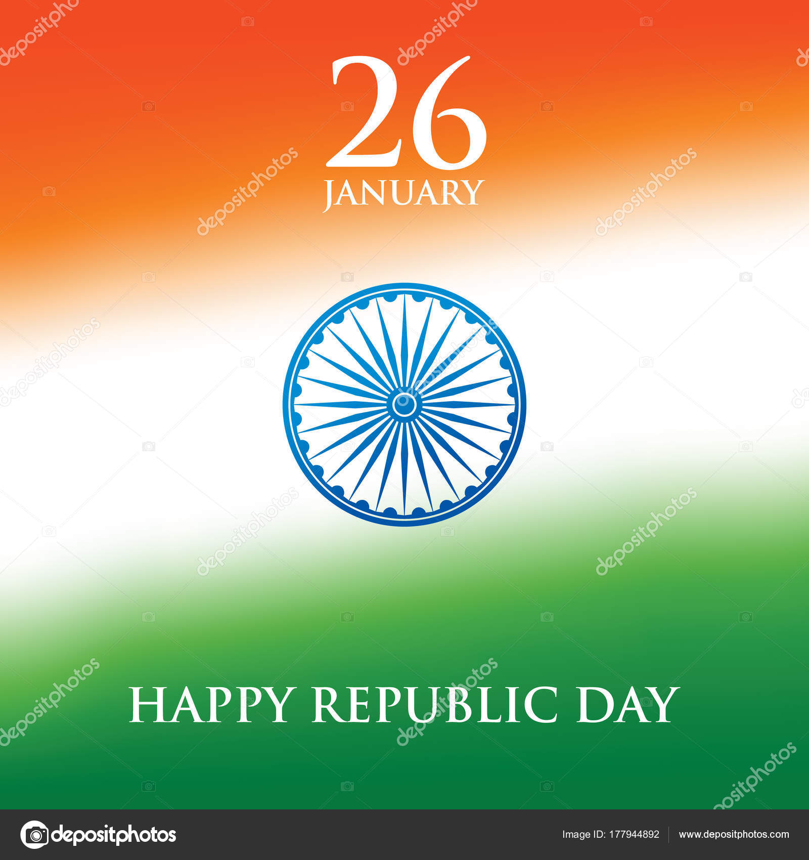 India republic day greeting card design vector illustration january india republic day greeting card design vector illustration january republic stock vector m4hsunfo