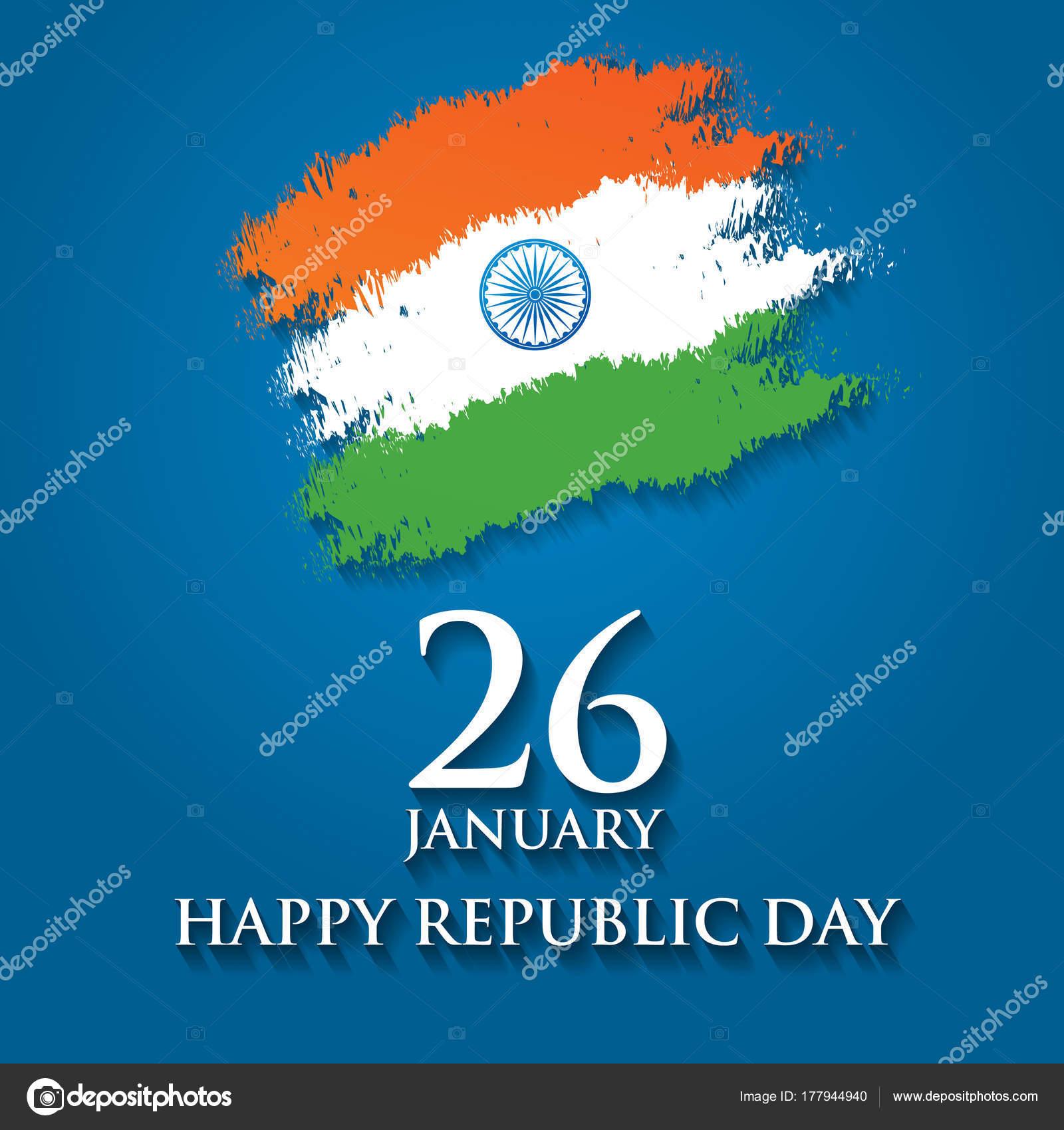 India republic day greeting card design vector illustration 26 india republic day greeting card design vector illustration 26 stock vector m4hsunfo