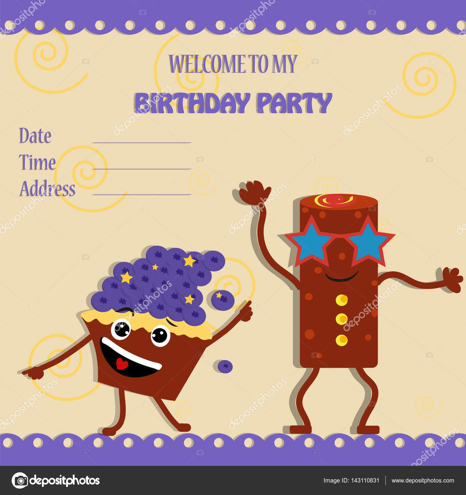 Tarjetas De Invitacion Cumpleaños Para Hombres Divertidas