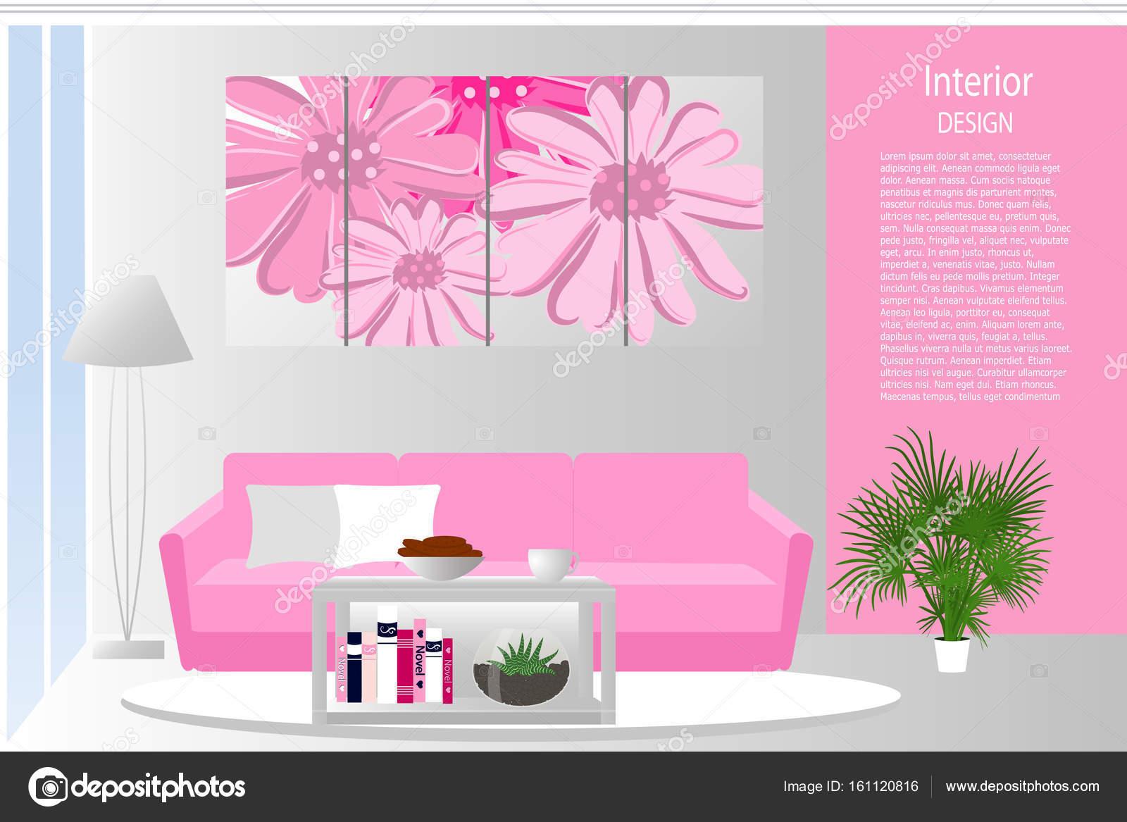 All 39 interno del salotto elegante salotto in colore rosa for Salotto elegante