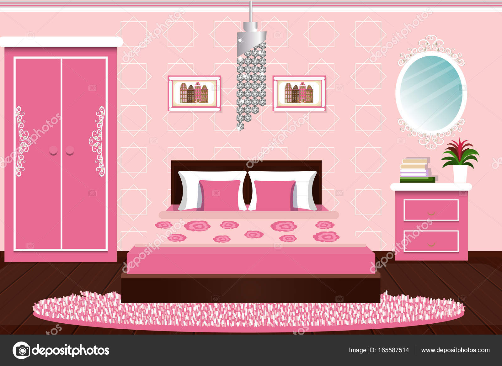 chambre dessin couleur dessin pour chambre fille chambre. Black Bedroom Furniture Sets. Home Design Ideas
