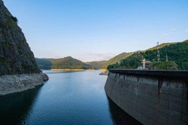 """Картина, постер, плакат, фотообои """"пейзаж с плотиной в горах румынии """", артикул 318202748"""