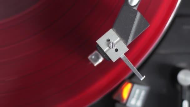 A modern bakelit lemezjátszó közelsége