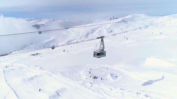 Zimní středisko ve Švýcarsku