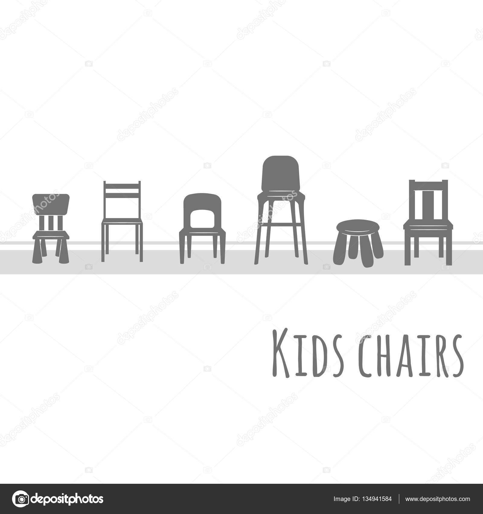 Muebles vector icono plano conjunto — Vector de stock © natalka ...