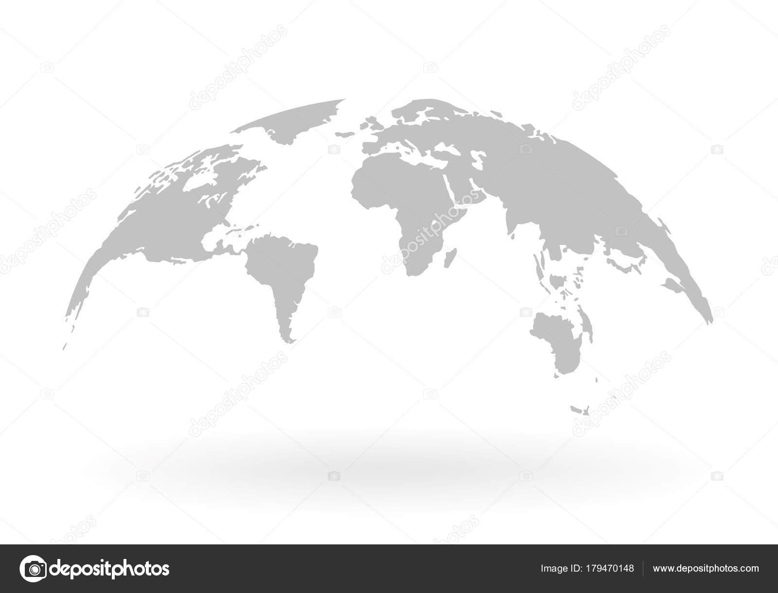 World map globe isolated on white background stock vector stock world map globe isolated on white background stock vector stock vector gumiabroncs Gallery