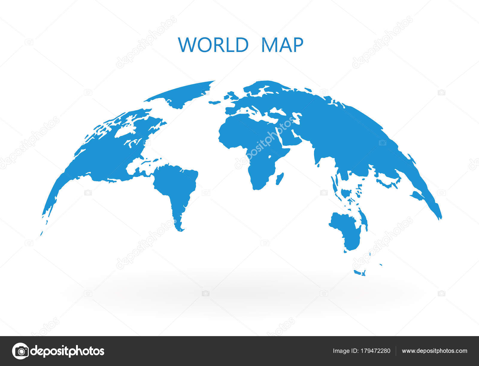 world map globe isolated on white background stock vector stock vector