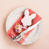 Photo Spring Easter table