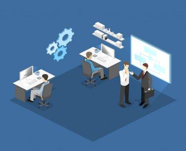 illustration of office software