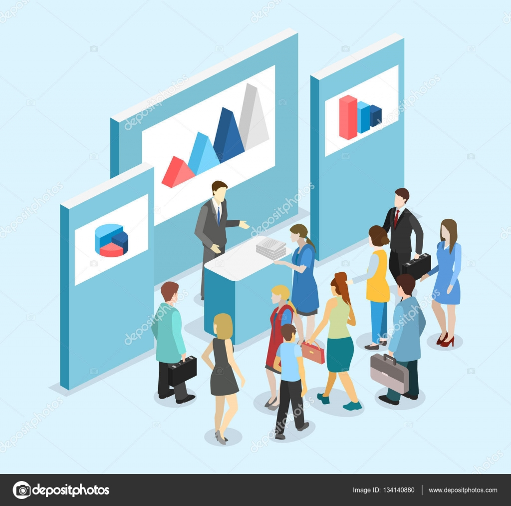 Simple Exhibition Stand Vector : Exhibition or promotion stand — stock vector reenya
