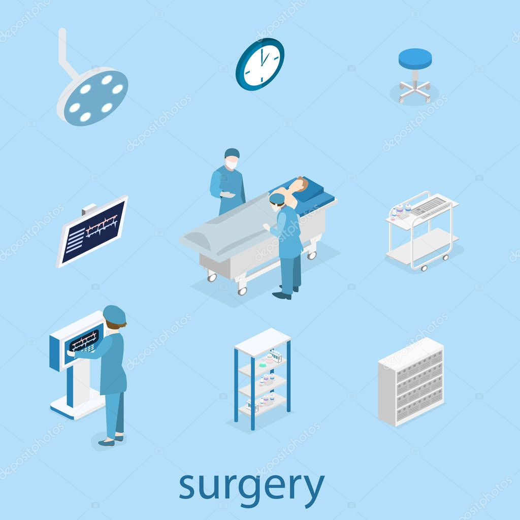 interior of Surgery Department