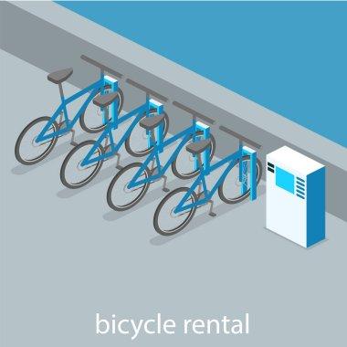 cutaway interior bicycle rental