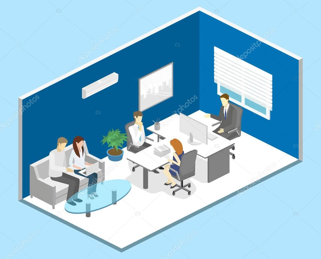 interior of director office