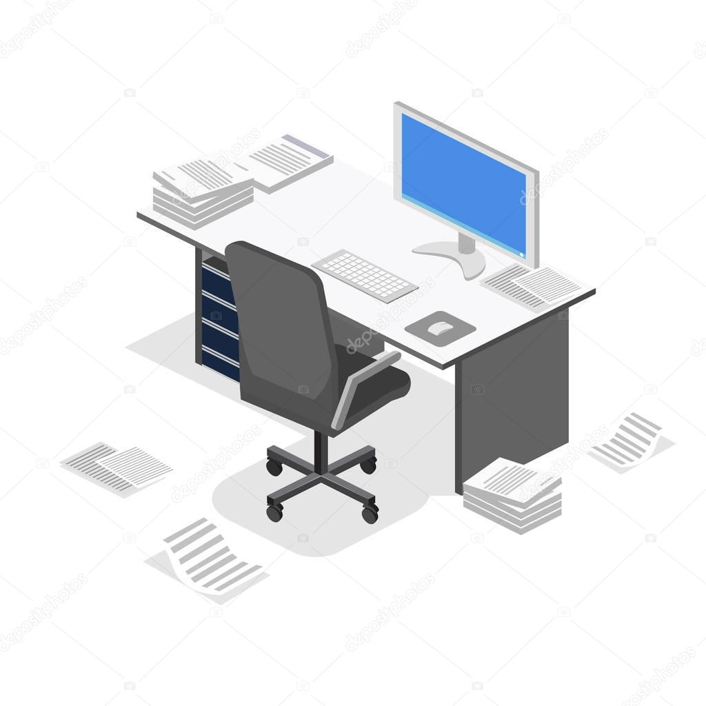 interior office workplace