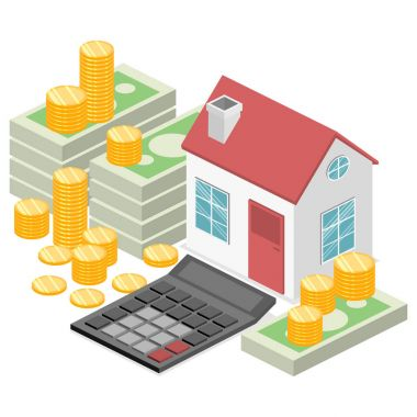 House and real estate money
