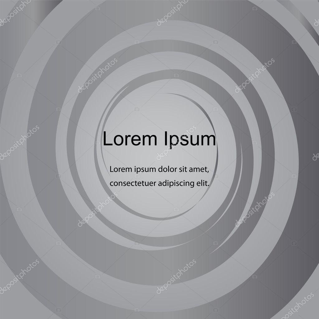 Kreis-Muster, abstrakte Hintergrund grau. Vorlage für Aufkleber ...