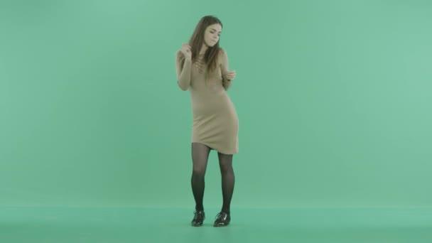 schöne Frau, tanzen