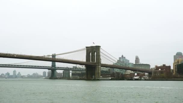 Schuss der Brooklyn Bridge