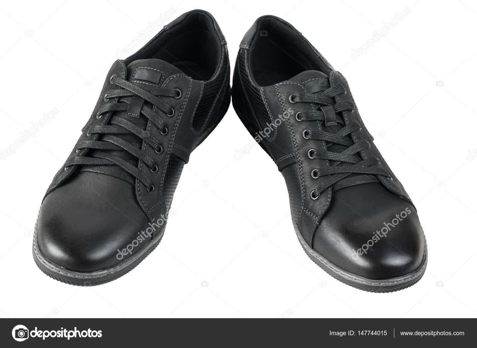 Herren Weißem Schuhe Schwarze Isoliert Sportliche Auf 43Rj5AL