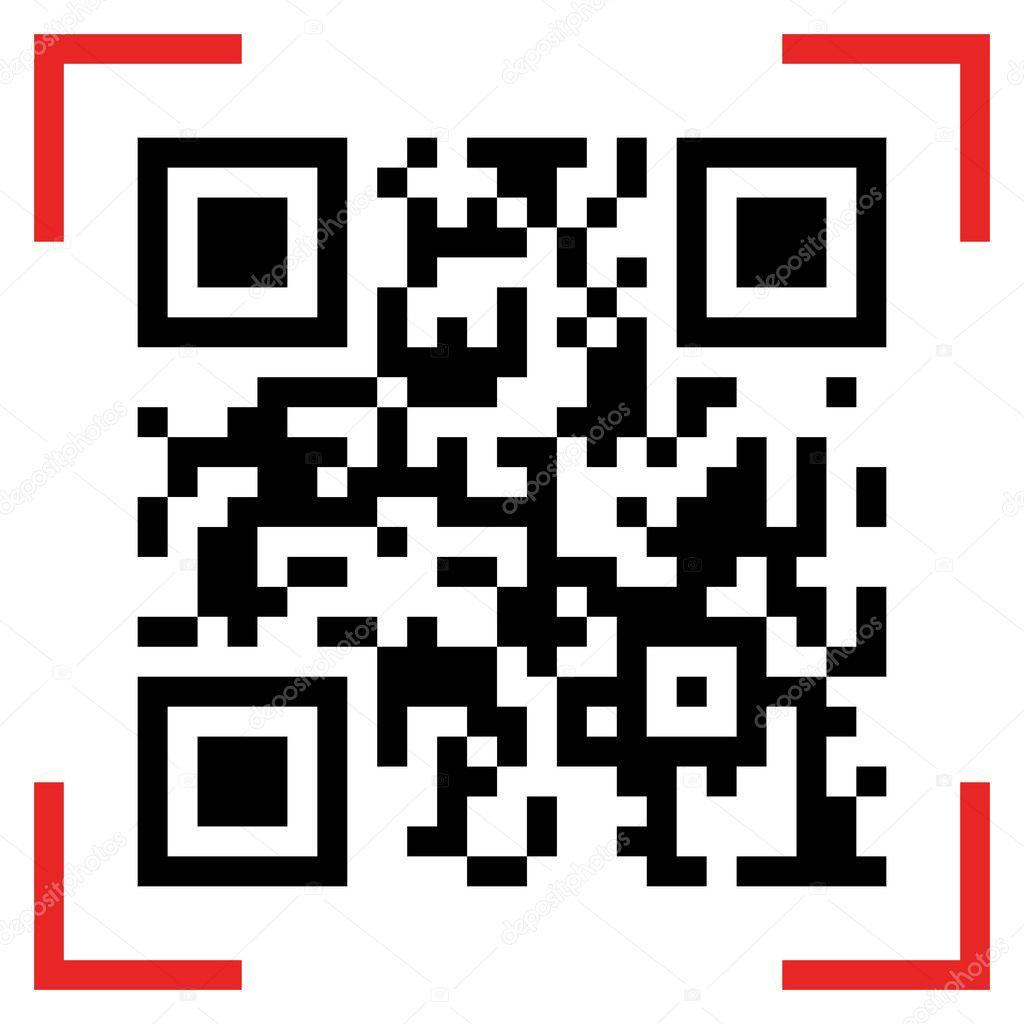 exemple de qr code  u2014 image vectorielle laverock  u00a9  126603440