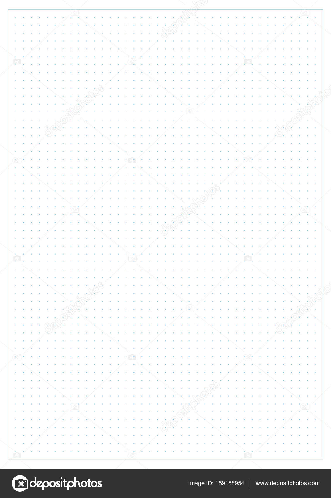 dotted grid graph paper background stock vector laverock 159158954