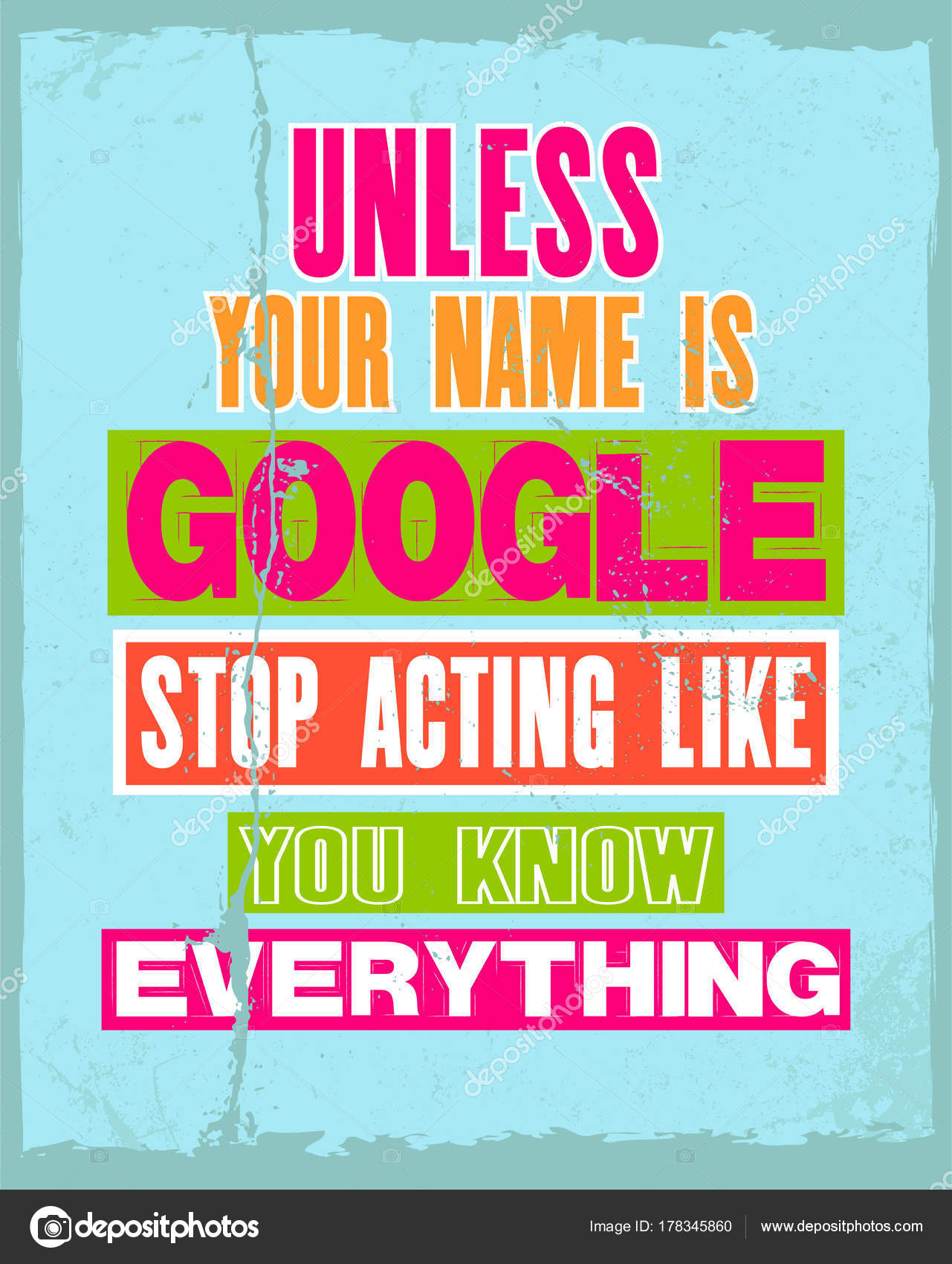 Google Stock Quotes Inspiring Motivation Quote With Text Unless Your Name Is Google
