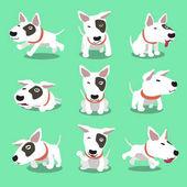 Představuje kreslený charakter bulteriér pes
