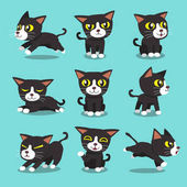 Cartoon Charakter Cat Posen