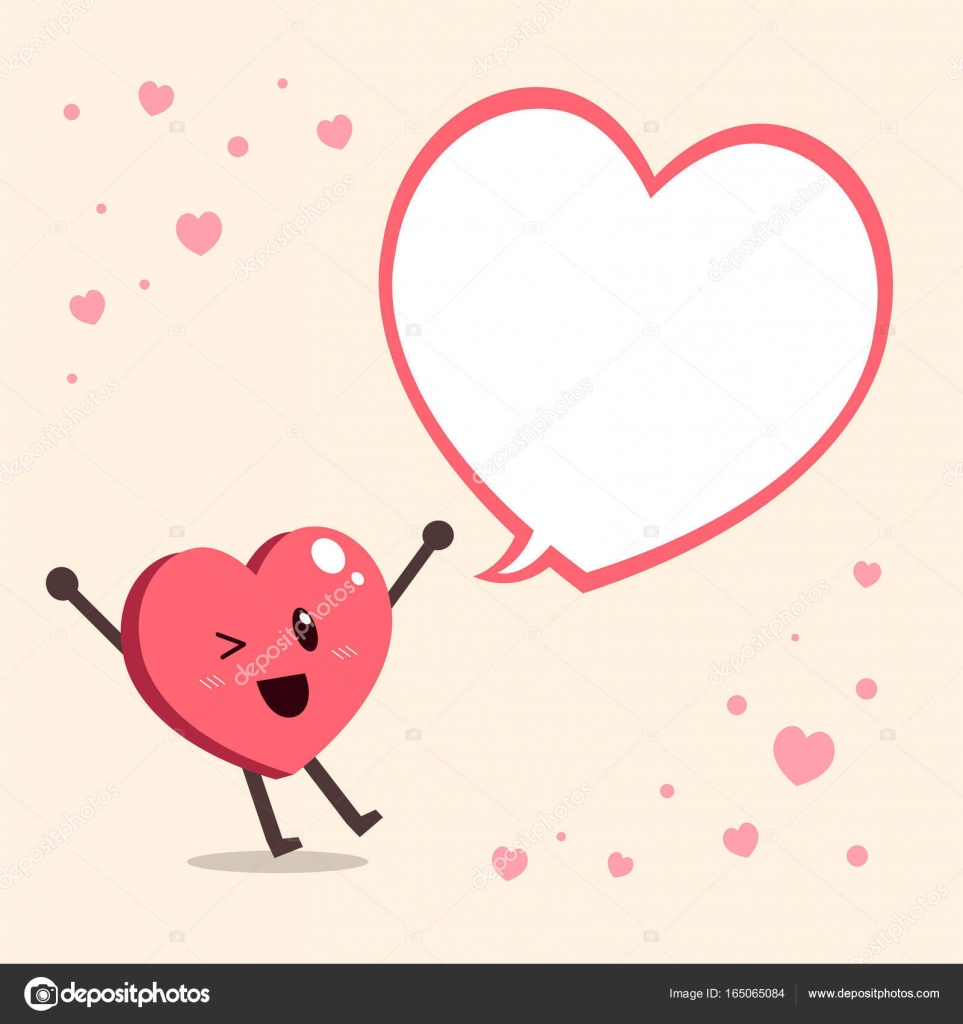 Vector cartoon big heart character with speech bubble stock vector cartoon big heart character with speech bubble stock vector buycottarizona Image collections