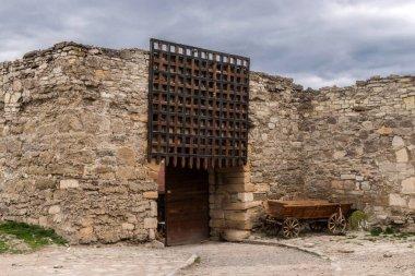 entrance to medieval castle