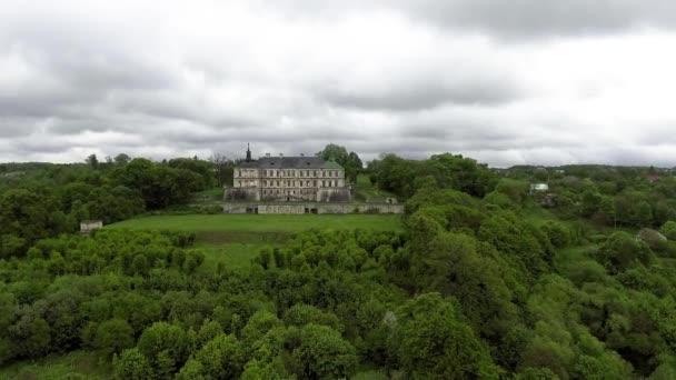 Pidhirtsi castle. Vista del castello dallaltezza del volo degli uccelli